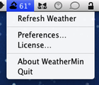 WeatherMin Screenshot